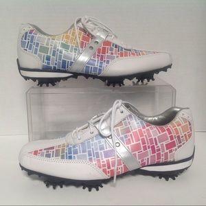 FootJoy Size 5 Lo Pro Multi Color Golf Shoes 97159